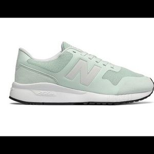 New Balance mint green shoes